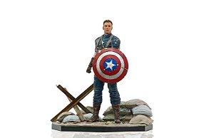 Capitão América 1/10 Iron Studios Exclusivo Ccxp 2019