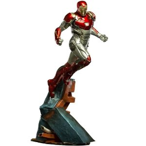 Estátua Homem de Ferro (Iron Man) Mark XLVII: Homem-Aranha De Volta ao Lar (Spider-Man Homecoming) Battle Diorama Series (BDS) Art Scale Escala 1/10 - Iron Studios
