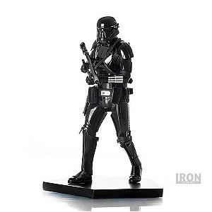 Estátua Death Trooper: Rogue One: Uma História Star Wars Art Scale Escala 1/10 - Iron Studios