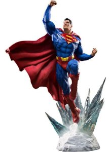 Superman Prime Scale 1/3 Dc Comics - Iron Studios