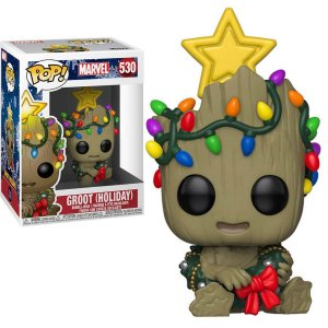Funko POP! Marvel - Baby Groot (Holiday) #530