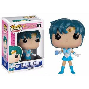 Funko Pop! Sailor Moon- Sailor Mercury- Mercúrio #91