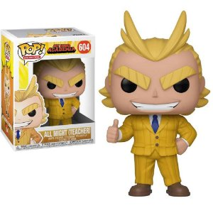 Funko Pop! My Hero Academy (Boku no Hero) - All Might (Teacher/Professor) #604