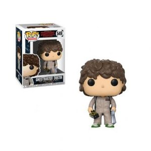 Funko Pop! Stranger Things - Dustin Ghostbuster (Caça- Fantasmas) #549