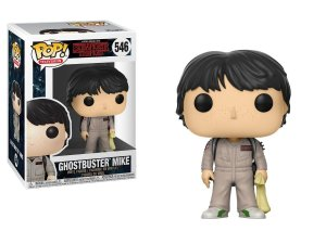 Funko Pop! Stranger Things - Mike ghostbuster (caça- fantasmas) #546