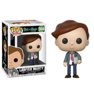 Funko Pop! Rick And Morty- Lawyer Morty (Morty advogado) #304