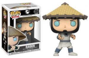 Funko Pop! Raiden - Mortal Kombat X #254