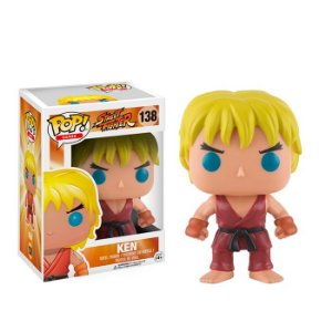 Funko POP! - Street Fighter- Ken #138
