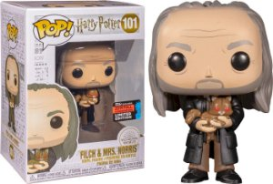 Funko Pop! Harry Potter - Filch & Mrs. Norris #101