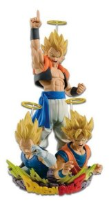 Diorama Dragon Ball-  Goku, Vegeta E Gogeta- Banpresto
