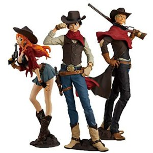 Monkey D. Luffy + Nami + Zoro - One Piece Treasure Cruise World Journey Vol. 1 - Banpresto