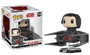 FUNKO POP! Funko Kylo Ren with Tie Fighter # 215 - Star Wars O Último Jedi