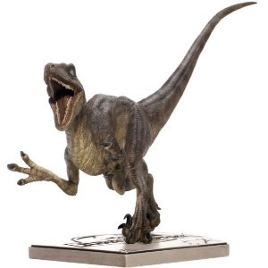 Attacking Velociraptor - Jurassic Park - 1/10 - Iron Studios