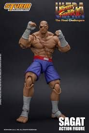 The Toyark Ultra Street Fighter II: The Final Challengers - Sagat Figure (STORM)