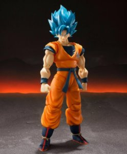 SHF - Dragon Ball Super S.H.Figuarts Super Saiyan God Super Saiyan Goku