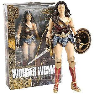 SHF - S.H. Figuarts Justice League- Liga da justiça- Wonder Woman (Mulher Maravilha)