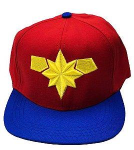 Boné- Capitã Marvel