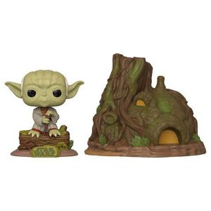 Funko POP! Star Wars: Empire Strikes Back - Dagobah Yoda with Hut (Town) #11