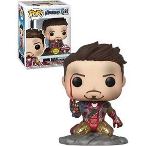 "Funko Pop! Homem de Ferro - Iron Man - ""I am Iron Man"": Vingadores Ultimato (Avengers Endgame)- Marvel - Exclusivo #580"