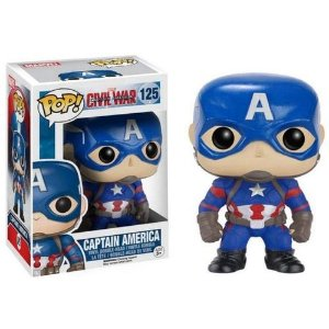 Funko Pop! Capitão América (Captain America) - Guerra Civil (Civil War) #125
