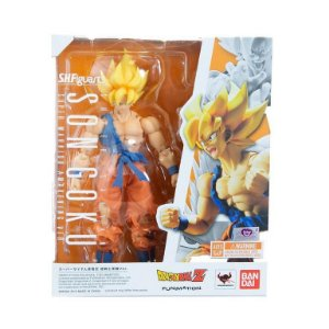 SHF - Dragon Ball Dragon Ball Z - Super Saiyan Son Goku Awakening- S.H. Figuarts
