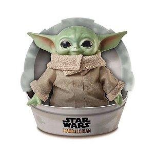 The Child - Mandalorian - Baby Yoda - Pelúcia 28 cm - Mattel