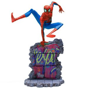 Peter B. Parker 1/10 BDS - Homem Aranha (Spider-Man: Into The Spider-Verse) - Iron studios