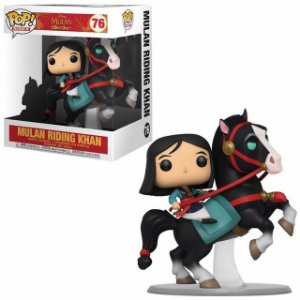 Funko Pop! Mulan On Khan: Mulan (Disney) #76
