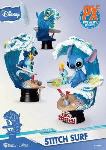 Stitch's Surf d-stage - Disney - Beast Kingdom