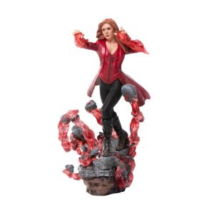 Feiticeira Escarlate (Scarlet Witch) 1/10 BDS - Avengers: Endgame - Marvel - Iron Studios