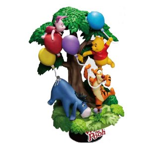 Winne The Pooh - D-Stage - Disney - Beast Kingdom