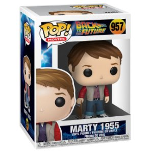 Funko Pop! Movies: Back to the Future ( De volta pro Futuro ) - Marty w/ Skate ( 1995 )