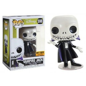 Funko Pop! Disney: The Nightmare Before Christmas - Vampire Jack (Metallic) #598