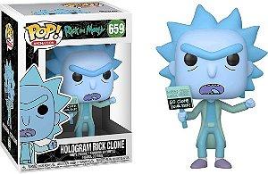 Funko Pop! Animation: Rick & Morty - Hologram Rick Clone #659