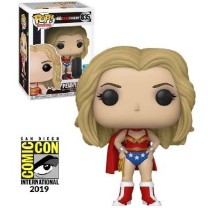 Funko Pop! Television: Big Bang Theory - Penny as Wonder Woman (2019 Summer Convention) #835