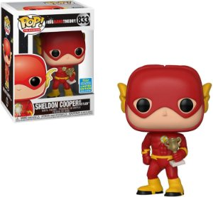 Funko Pop! Television: Big Bang Theory - Sheldon as The Flash (2019 Summer Convention) #833