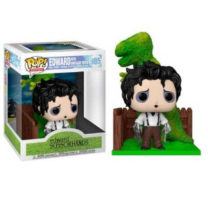 Funko Pop! Deluxe: Edward Scissorhands: Edward with Dinosaur Shrub: Edward Mãos de Tesoura (Edward Scissorhands) #985