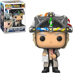 Funko Pop! Doc With Helmet - Back To The Future - #959
