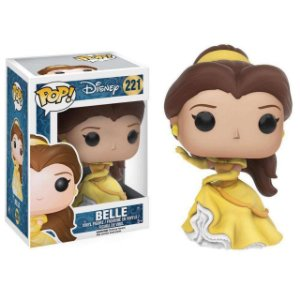 Funko POP! Disney Beauty And The Beast (Bela e A Fera) #221 Belle (Sparkle Dress)