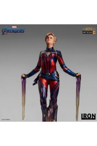 Captain Marvel - Avengers: Endgame - Bds Art Scale 1/10 - Iron Studios