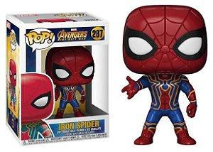 Funko Pop! Iron Spider ( Homem aranha de Ferro ) Avengers ( Vingadores ) Infinity War #287