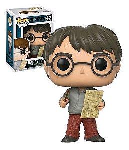 Funko Pop! Harry Potter: Harry With Marauders Map ( Harry com mapa do maroto ) #42