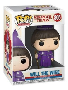 Funko Pop! Stranger Things - Will The Wise ( Will o mago )#805