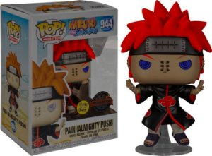 Funko Pop! Naruto: Shippuden - Pain with Shinra Tensei Glow in the Dark #944