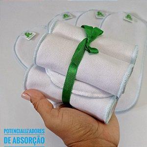 Kit 5 reforços para Fralda Ecológica