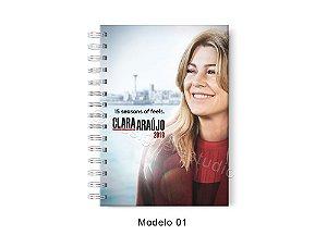 Agenda 2019 Grey's Anatomy com nome (3 modelos)