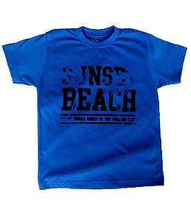 Camiseta flocado BEACH