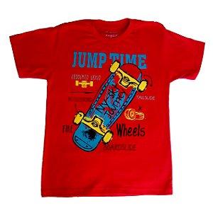 Camiseta skate jump time