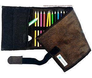Estojo De Enrolar Mini P/ Desenhar E Colorir