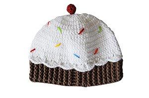 Gorro Cupcake - Mini Bee